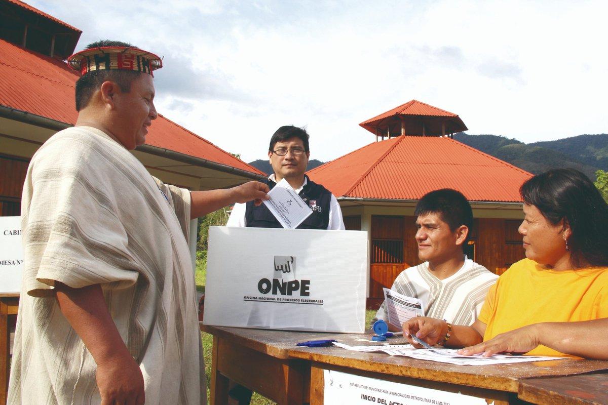 Elecciones electorales 2020 ONPE