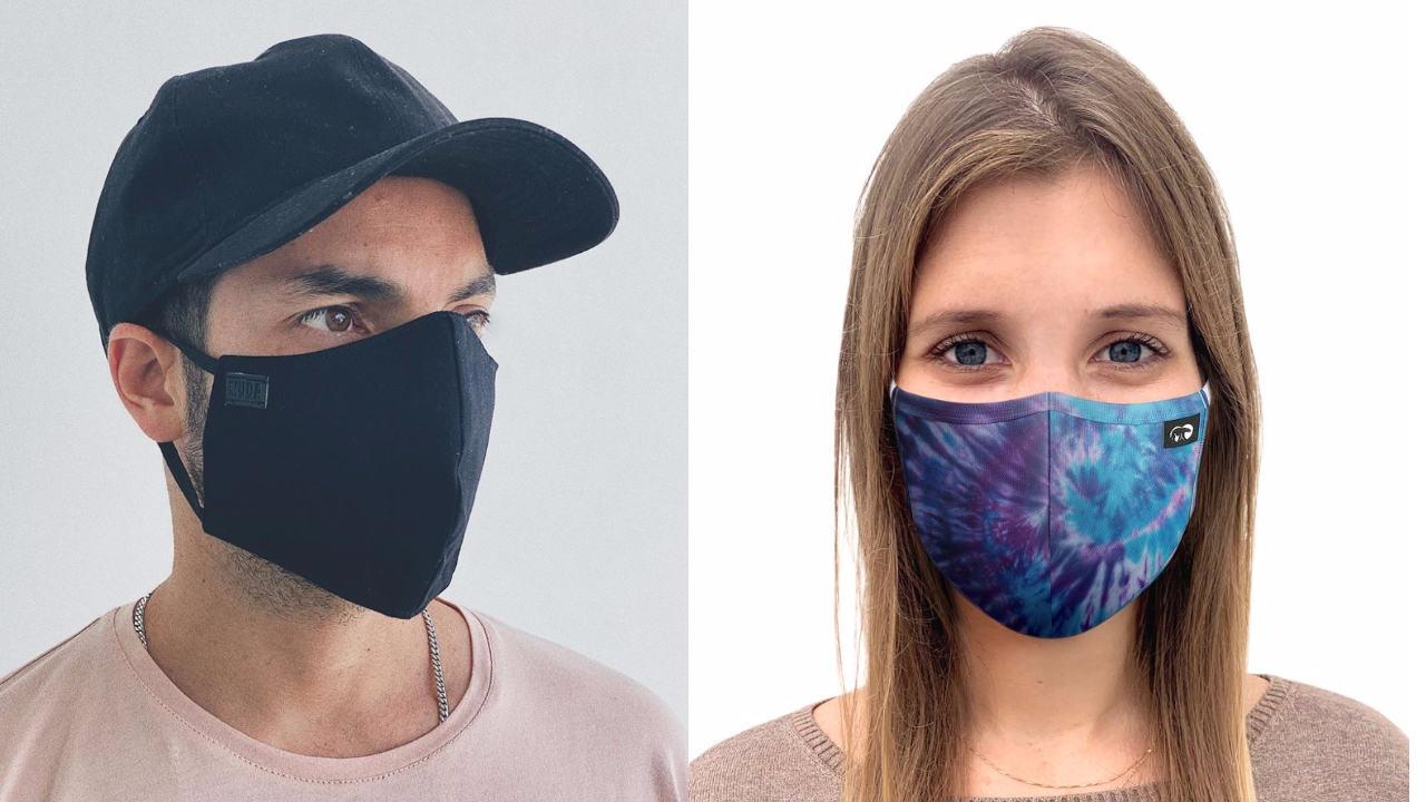 Mascarillas de tela reutilizables Perú moda